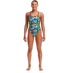 Funkita Eco Twisted One Piece Swimsuit Women, gelat omg
